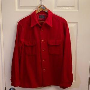 Pendleton 100% Wool Flannel Shirt